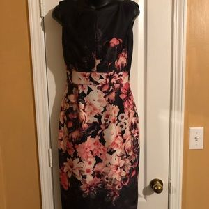 Eliza J. Floral Dress ~ Size 4